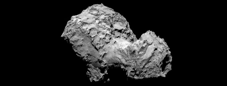 Comète Churyoumov Gerassimenko
