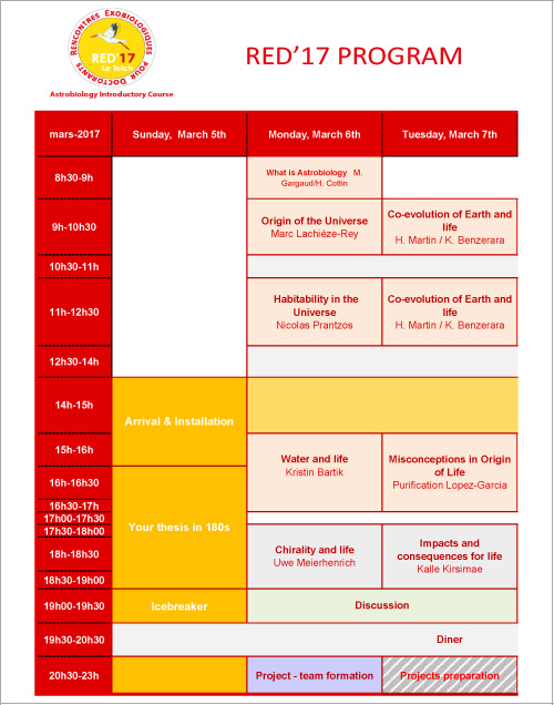 Programme RED17