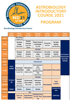 Programme RED'21