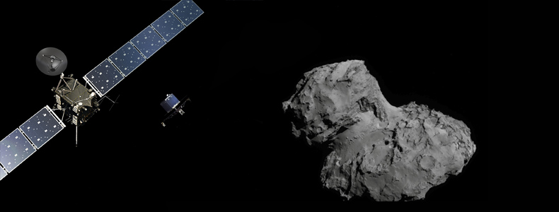 Rosetta at comet 67P