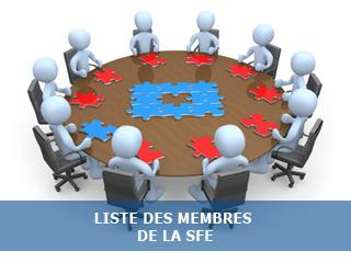 Liste des membres de la Société Française d'Exobiologie