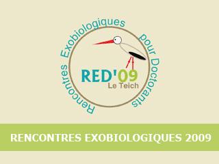 """3e édition des """"Rencontres Exobio pour Doctorants"""" : RED'09"""