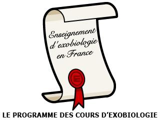 L'enseignement de l'exobiologie en France