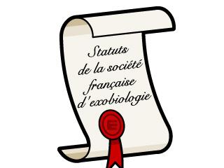 Statuts de la Société Française d'Exobiologie, SFE
