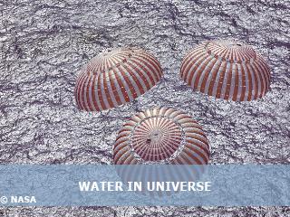 L'eau dans l'univers