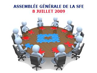 Assemblée Générale de la SFE
