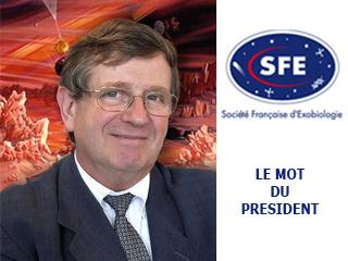 Message du président de la SFE