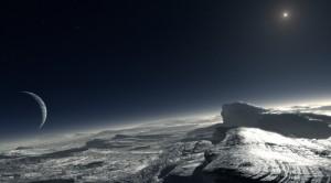 Vision artistique de la surface de Pluton - (c) ESO/L. Calçada