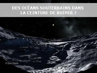 De l'eau liquide aux confins du système solaire ?