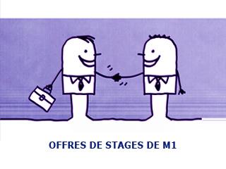 Offres de stages de M1 à Marseille