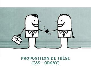 Proposition de thèse à l'IAS (Orsay)