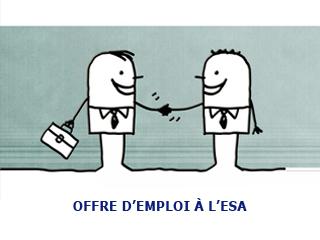 Offre d'emploi à l'ESA