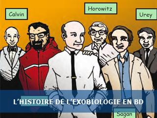 L'histoire de l'exobiologie en bande dessinée…