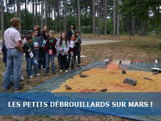Les Petits Débrouillards découvrent l'exobiologie à Orléans