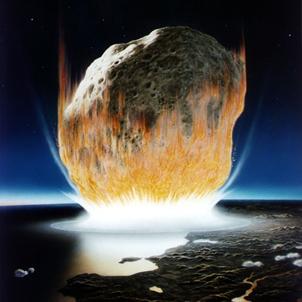"""Le ciel peut-il nous """"tomber sur la tête """"? Questions sur les astéroïdes et les comètes"""