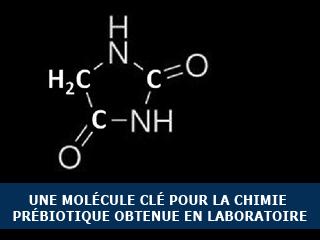 Une molécule clé pour la chimie prébiotique obtenue en laboratoire.
