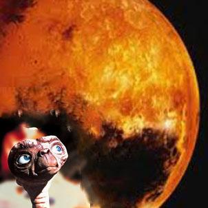 E.T habite-t-il la planète Mars ?