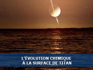 L'évolution chimique à la surface de Titan étudiée en laboratoire