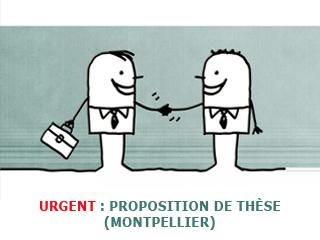 Proposition de thèse en Chimie Prébiotique à Montpellier (offre pourvue)