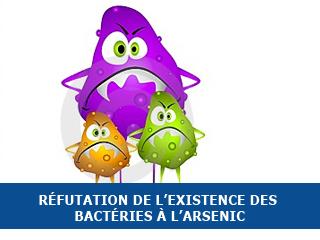 Réfutation de l'existence des bactéries à l'arsenic