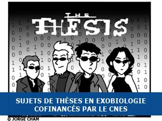 Bourses de thèses en exobiologie cofinancées par le CNES