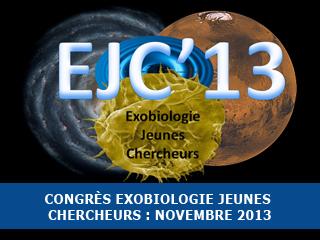 Congrès Exobio Jeunes Chercheurs 2013 : les inscriptions sont ouvertes