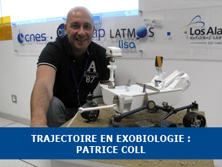 Trajectoire en Exobiologie : Patrice Coll