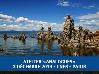"""Atelier """"Analogues"""" pour l'exobiologie, le 3 Décembre 2013, CNES (Paris)"""