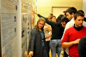 Echanges et débats lors des présentations posters…