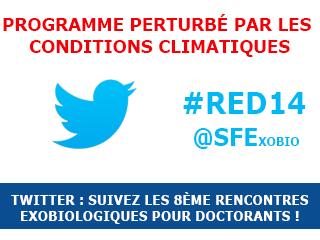 Suivez les Rencontres Exobiologiques pour Doctorants sur Twitter !