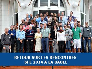 Les troisièmes rencontres de la SFE se sont tenues à La Baule.