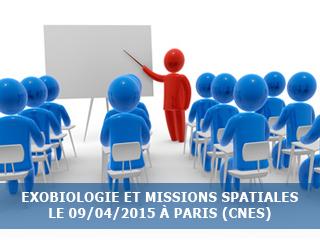Exobiologie et missions spatiales (CNES)