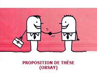 Proposition de Thèse Financée à Orsay