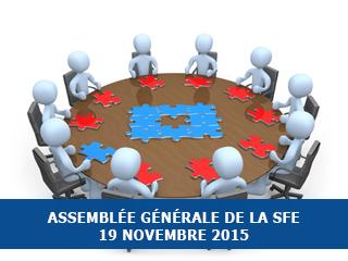 Assemblée générale 2015 de la Société Française d'Exobiologie