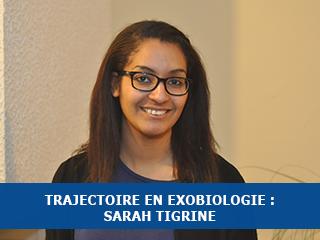 Trajectoire : Sarah Tigrine