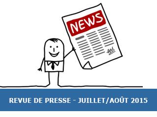 La revue de presse Exobio – Juillet/Août 2015