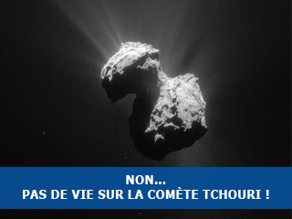 Non, Rosetta n'a pas détecté de vie sur la comète Tchouri !