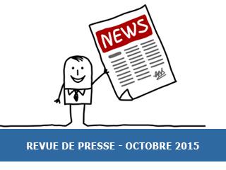 La revue de presse Exobio – Octobre 2015