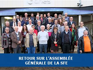 Assemblée générale 2015 de la SFE