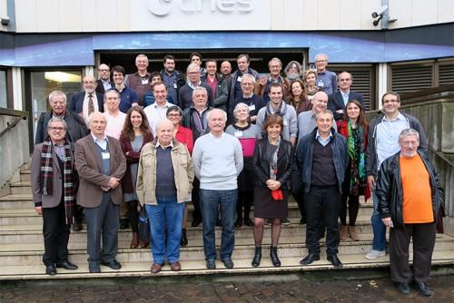 Participants de l'assemblée générale 2015 de la SFE