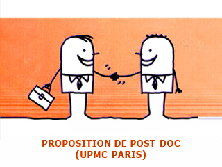 Offre de Post-doc à l'UPMC (Paris)