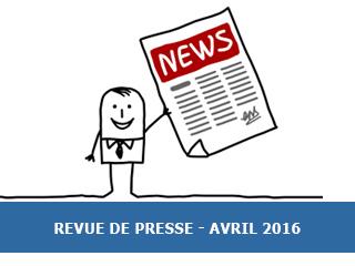 La revue de presse Exobio – Avril 2016