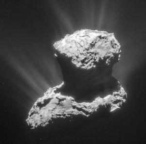 La comète 67P (Tchoury) le 25 Mars 2015