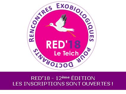 Ouverture des inscriptions aux Rencontres Exobiologiques pour Doctorants 2018