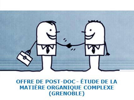 Offre de post-doctorat à l'IPAG de Grenoble