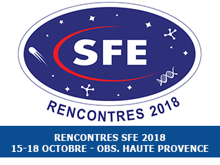 Announcement: Rencontres SFE 2018