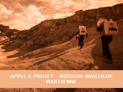 Appel à Projets Scientifiques – Mission Analogue Martienne