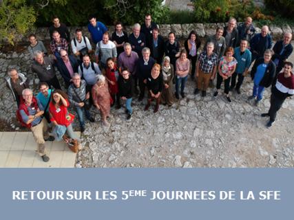Les cinquièmes journées de la SFE se sont tenues à l'Observatoire de Haute Provence