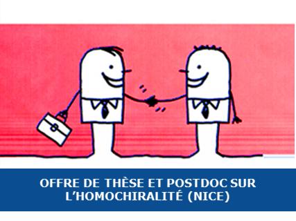 Offre de Thèse et Postdoc à Nice sur l'apparition de l'homochiralité