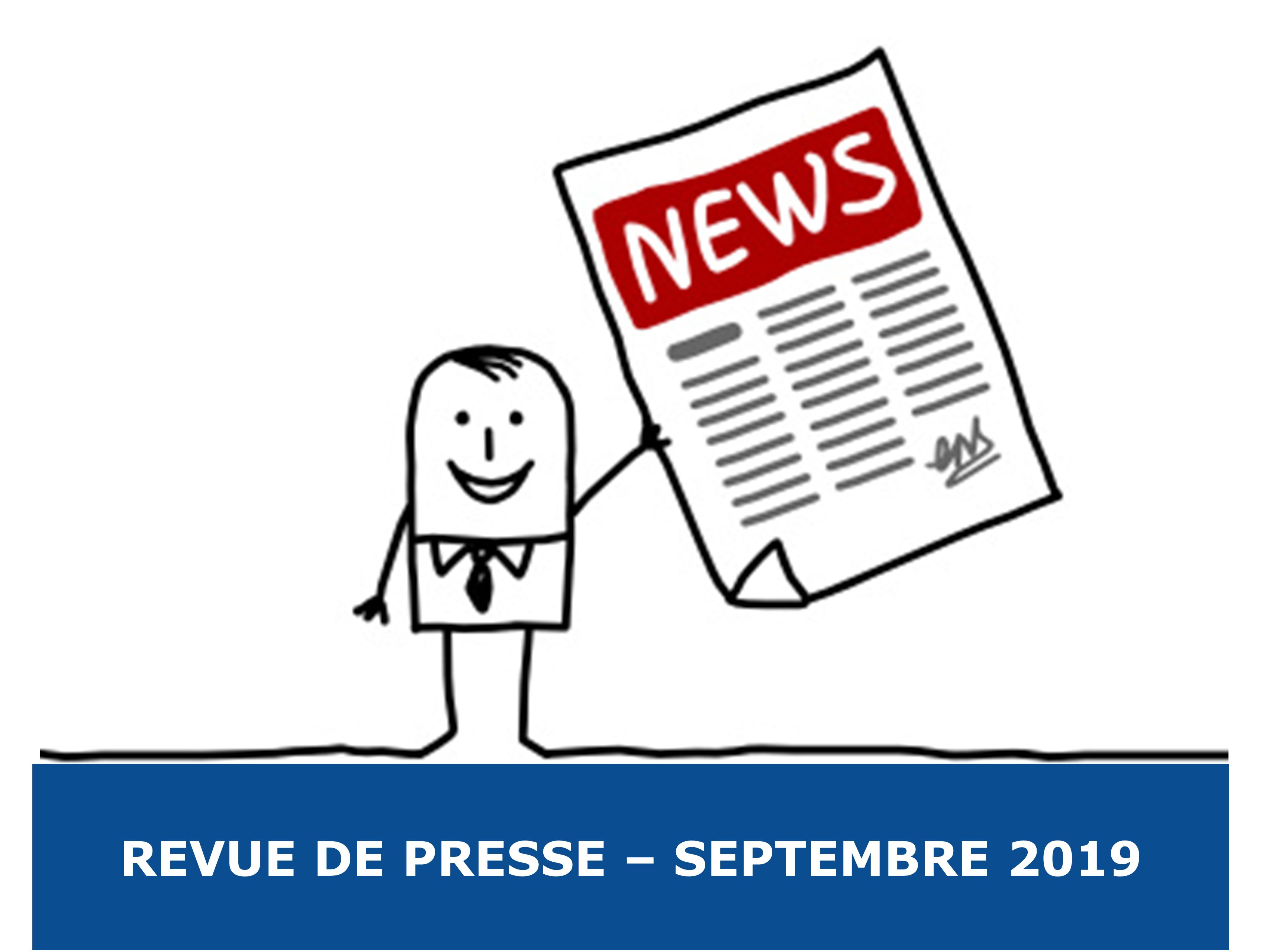 La Revue de Presse Exobio – Septembre 2019
